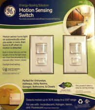 GE Motion Control Switches 2 PK For Bathrooms Kitchen Garage Home Office