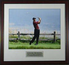 Tiger Woods 2000 US Open Pebble Beach Framed Photo 11 x 14