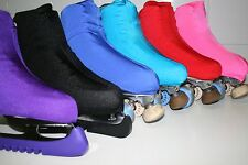 NYLON LYCRA SKATING BOOT COVERS* ONE SIZE FITS ALL * VARIOS COLOURS