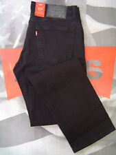 LEVI'S 511 MEN'S SKINNY FIT ZIP FLY JEANS BLACK STRETCH