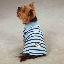Dog is Good Striped Dog Polo Tees Colorful Springtime Pet Puppy Shirt XXS - XLG