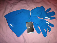 NIKE RUNNING GLOVES and BEANIE COMBO UNISEX ONE SIZE NWT $45.00