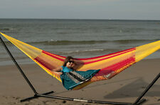 Breezy Point Handmade Mayan Mexican Cotton Double Hammock