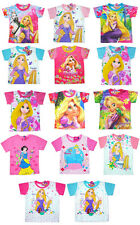 Disney TANGLED RAPUNZEL Kids T-Shirt Top Clothes Cotton&Poly 3-10 years CHOOSE