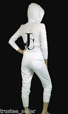 NWT Juicy Couture Five Star logo Luxe Fleece Tracksuit Matching Hoodie & Pants