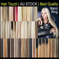 "18"" 20"" 22"" Skin Tape remy 100% Human Hair Extensions black brown blonde ombre"
