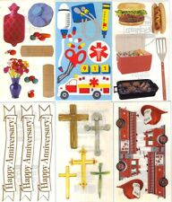ASSORTED FAMILY MEMORIES Set of 2 STICKER SHEETS FMI Frances Meyer Many Choices