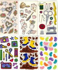 ASSORTED FAMILY MEMORIES Set of 2 STICKER SHEETS FMI Frances Meyer 100+ Choices
