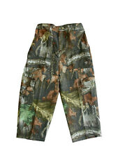 NWT Toddler Boys Advantage Timber 6 Pocket Camo Pants