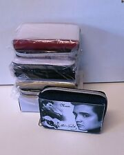 ELVIS PRESLEY PURSE - 4 COLOURS - PERSONALISE FREE -IDEAL BIRTHDAY GIFT PRESENT