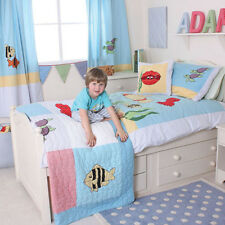 UNDER THE SEA DUVET COVER AND PILLOW CASE FOR CHILDREN'S / BOYS ROOM BY BABYFACE