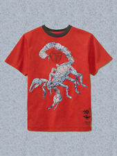 NEW GAP GRAPHIC RED TOP TEE SIZE XS 4/5 S 6/7 M 8