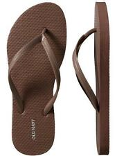 NWT Ladies FLIP FLOPS Old Navy Thong Sandals SIZE 7,8,9,10,11 BROWN Shoes