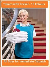 Premier Tabard with Pocket - 15 Great Colours Workwear Cleaning Florist Freepost