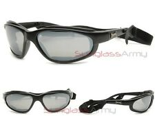 Choppers PADDED Motorcycle Glasses w/ Neck Strap: Sunglasses w/ Driving Lenses
