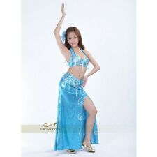 HenryG Belly Dance Costume, Belly Dance Outfit, Set of 2, Available in  3 Colors