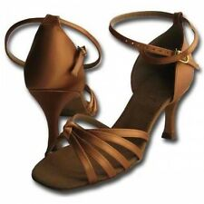 ON SALE! HenryG Women Latin Ballroom Salsa Dance Shoes HGB-210 in Satin Bronze