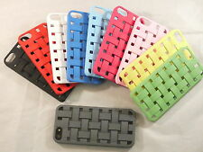 New 3D Square Protective Case Cover For iPhone 5 5G 10 Colors US Seller