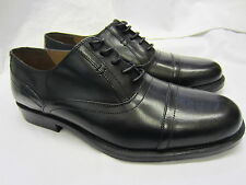 Clarks 'Astute Top'  Mens Black Leather Lace Ups Shoe H Width Fitting