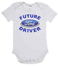 BABY ONE PIECE, ROMPER. ONESIE. printed with FUTURE FORD DRIVER brand new