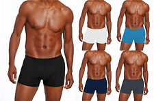 """5 x Mens Angelo Litrico Black or Assorted Boxer Shorts Sizes from 30-42"""" Cotton"""