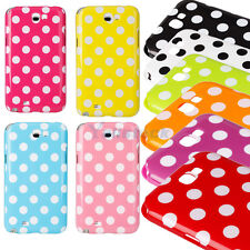 New Polka Dots TPU Case Cover for Samsung Galaxy Note II Note 2 N7100