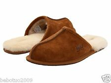 NEW MEN UGG AUSTRALIA SCUFF CHESTNUT 5776 ORIGINAL %100 AUTHENTIC