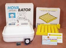 HovaBator Egg Incubator | Auto Turner | Circulated Air Fan Kit - Chicken Quail