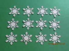 #50~~~ Christmas ALPINE Snowflakes ~MARTHA STEWART PUNCHIES~~~Cricut Die Cuts~~