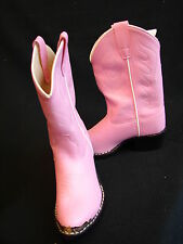 PINK  Western Cowboy Cowgirl Kids riding show boots Youth & kids sizes