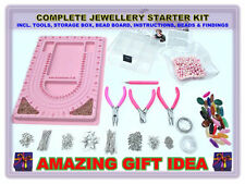 Premium X-Large Jewellery Making Beginner Starter Kit with Tools Christmas Gift