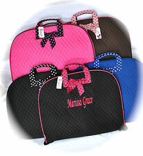 Personalized Quilted Garment Bag FREE Custom Embroidery - Dance, Cheer, Travel