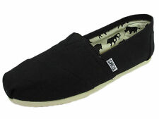 NEW WOMEN TOMS CLASSICS  BLACK CANVAS ORIGINAL SO CUTE CLASSIC 001001B07