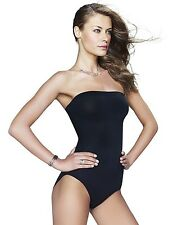MAIDENFORM CONTROL IT! SHINY STRAPLESS BODY BRIEFER #12450 BLACK NWT