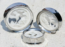 Hummingbird #2 SYNTHESIS PLUGS Double Flare Steel and Bone - Price Per 1