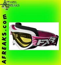FXR Recruit Goggles, Red Fuchsia Orange Blue Yellow 2701, New w/tags
