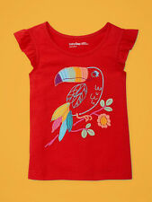 NEW GAP EMBROIDERED FLUTTER TOP SIZE 12-18M 2T 3T 4T 5T