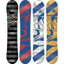 K2 Lifelike Mens Snowboard New 2013 All Mountain Flateline Board Various Sizes