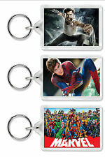 Marvel Keyring / Bag Tag - Choice of 9 images! *Great Gift*