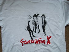 GENERATION X T-SHIRT CLASH SEX PISTOLS BILLY IDOL PUNK SIGUE SIGUE SPUTNIK