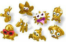 Moshi Monsters Moshlings Gold Series 1 figures - Pick your favourite moshlings!!