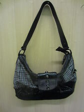 Ladies Bulaggi Black, Sequined/Tartan/Snake Skin Pattern Handbag, 25035