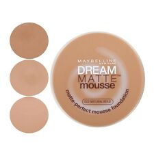 MAYBELLINE DREAM MATTE MOUSSE FOUNDATION SEALED PLEASE SELECT SHADE FROM MENU