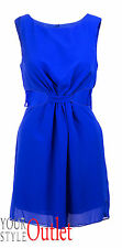 BRAND NEW STUNNING EX ATMOSPHERE BLUE PARTY OPEN FRONT DRESS SIZE 8-14