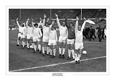 1973 FA CUP LEEDS UNITED REVIE TEAM PHOTO PRINT A4 or A3 FREE P+P LEEDS UTD