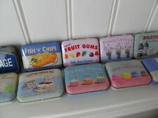 MARTIN WISCOMBE CHIC N SHABBY DINKY TIN CREAM TEA CAMPERVAN PARTY LAVENDER ALE