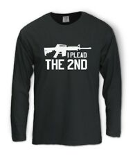 the 2nd Amendment Long Sleeve T-Shirt Gun Pro Plead Usa Ar15 Bear Right Arms