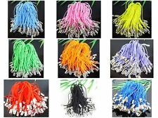 11Color-1 Or Mixed Charm Mobile Phone Dangle Strap String Thread Cord 100Pcs
