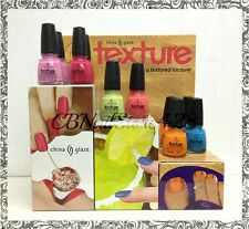 ★NEW★China Glaze - TEXTURE Collection - Matte/Liquid Sand - Choose Any Color