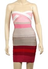 Free Shipping Bandage dress Strapless Red bandage bodycon prom party dress